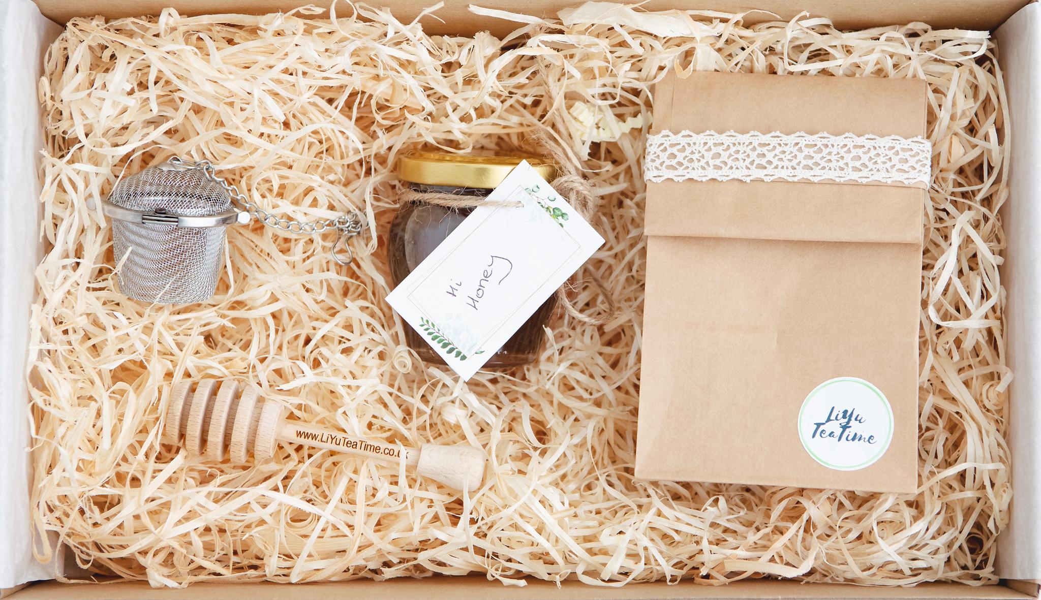 Hi Honey Christmas Gift Box Liyuteatime